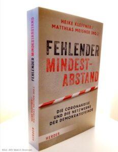 Buchcover: Fehlender Mindestabstand